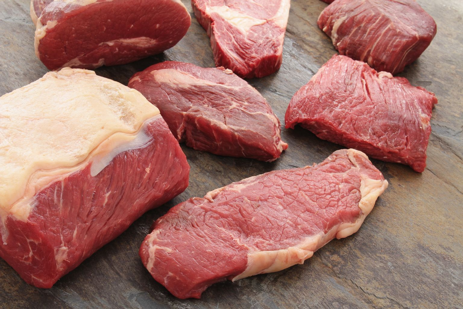 beef steak cuts
